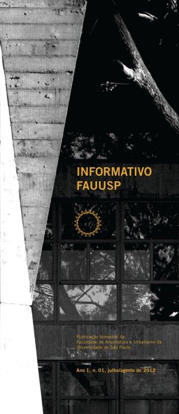 Download do Informativo - fauusp