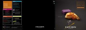 Les plateaux repas (Automne-Hiver) - Fauchon