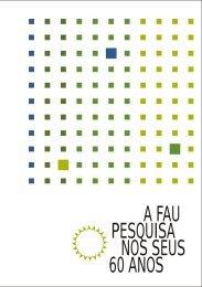 Pesquisas FAU 2007/2008 - fauusp