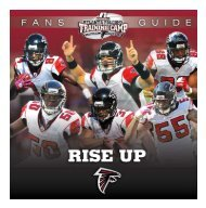 The 2011 Atl Anta Falcons Training Camp Guide