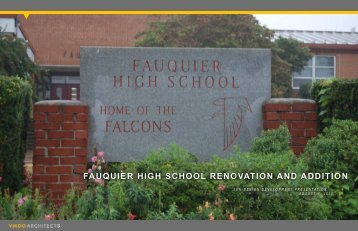 fauquier high school renovation and addition - Fauquier County