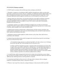 Minimum Standards 1-19 - Fauquier County