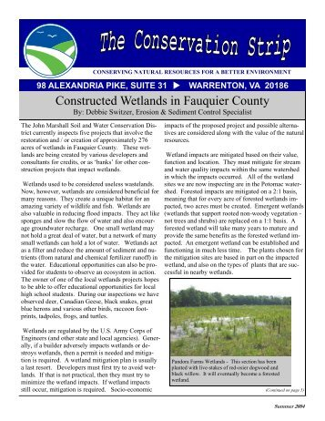Summer 2004 Newsletter - Fauquier County