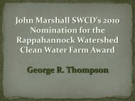 2010 Awards 2 - Fauquier County