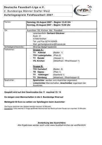 Ergebnisse - VfL Kirchen