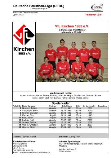 Deutsche Faustball-Liga (DFBL) VfL Kirchen 1883 e.V.