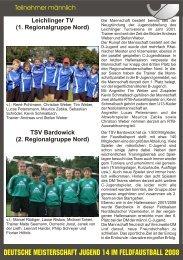Teilnehmer männlich.cdr - VfL Kirchen