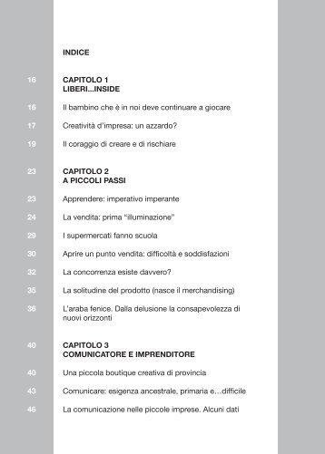 INDICE CAPITOLO 1 LIBERI...INSIDE Il bambino che è in noi deve ...