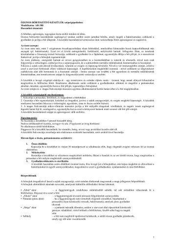 Használati útmutató - Favora-Info Kft.