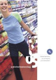 Activiteitenverslag 2005 - Favv