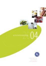 Activiteitenverslag 2004 - Favv