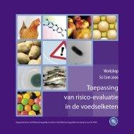 Toepassing van risico-evaluatie in de voedselketen - Favv
