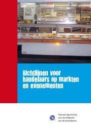 Richtlijnen voor handelaars op markten en evenementen