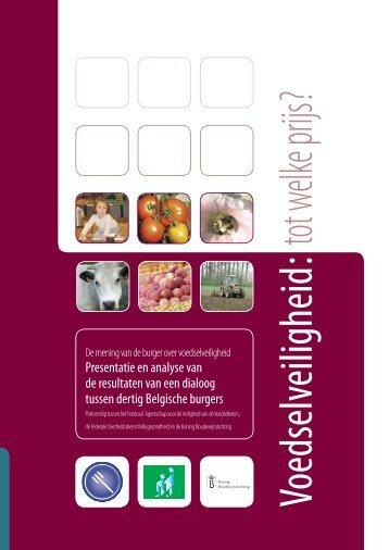 Voedselveiligheid: tot welke prijs - Favv