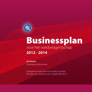 Businessplan 2012-2014 - Favv