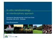 Hans Bouwmeester Symposium Nanotechnology in the Food ... - Favv