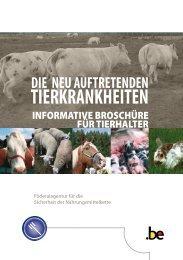 Die neu auftretenden Tierkrankheiten