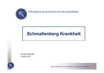 Schmallenberg Krankheit - Favv
