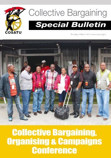 Collective Bargaining - Congress of South African Trade Unions
