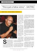 Collective Bargaining - Congress of South African Trade Unions - Page 6