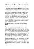 FAWU Bulletin, 31 July 2009 - Food and Allied Workers Union - Page 2