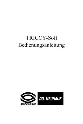 TRICCY-Soft Bedienungsanleitung - Fax-Anleitung.de