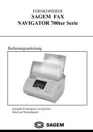 BDA Laserfax 710/830 deutsch - Fax-Anleitung.de