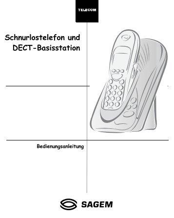 6FKQXUORVWHOHIRQ XQG '(&7 ... - Fax-Anleitung.de