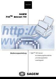 BDA Laserfax 750i deutsch - Fax-Anleitung.de
