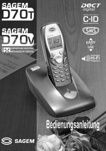 BDA D70T / D70V - Fax-Anleitung.de