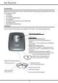 BDA D70T / D70V - Fax-Anleitung.de - Seite 5