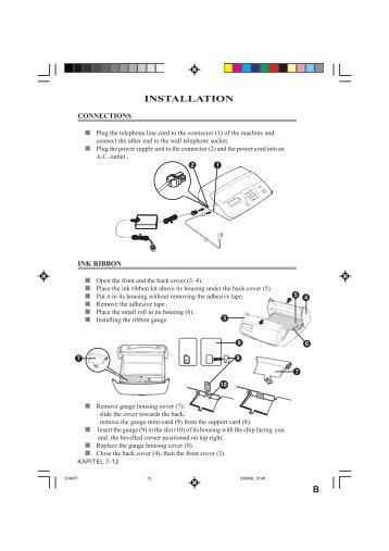 INSTALLATION B - Fax-Anleitung.de
