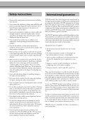 Philips Magic2 Kala GB Manual - Fax-Anleitung.de - Page 2