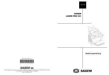 BDA Laserpro 341 deutsch - Fax-Anleitung.de