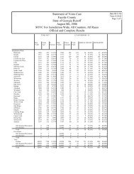 Results by Precinct - Fayette County Government