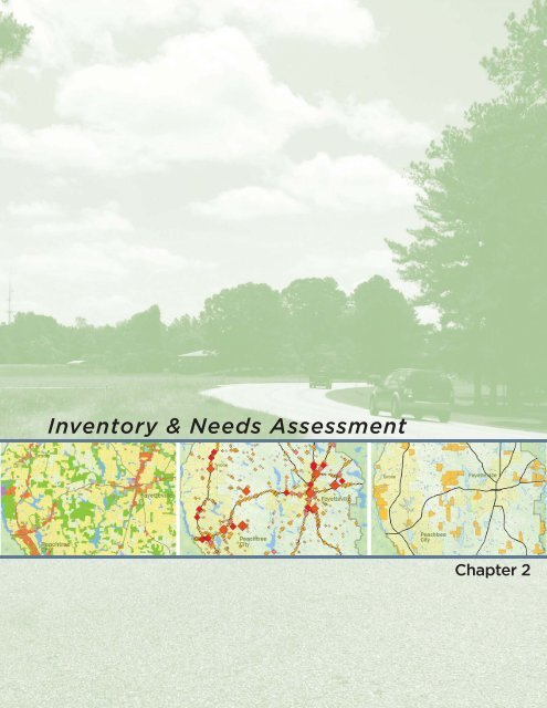Inventory and Needs Assessment - Fayette County Government