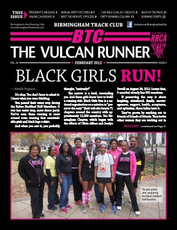 BLACK GIRLS RUN! - Birmingham Track Club