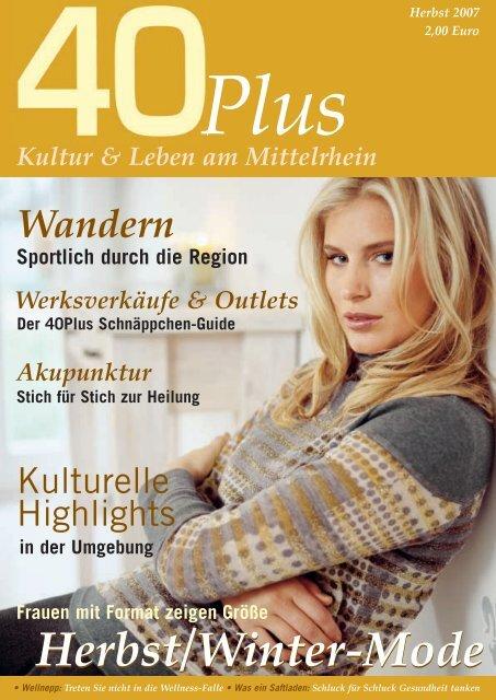 Kultur & Leben am Mittelrhein - 40PLUS ONLINE