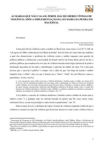 Andréa Pacheco de Mesquita - Fazendo Gênero