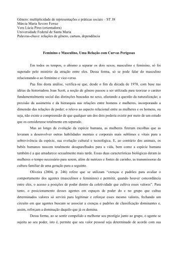 ST 38 Márcia Maria Severo Ferraz Vera Lúcia ... - Fazendo Gênero