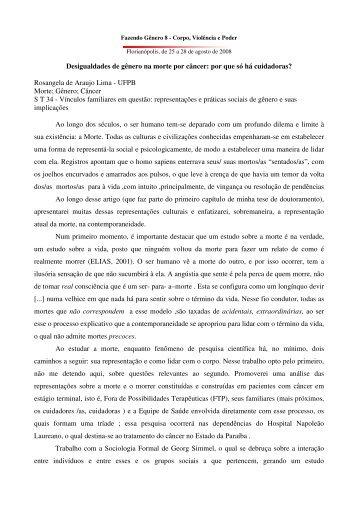 Rosangela de Araujo Lima - Fazendo Gênero