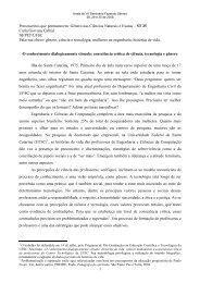 Gênero nas Ciências Naturais e Exatas – ST 25 Carla Giovana ...
