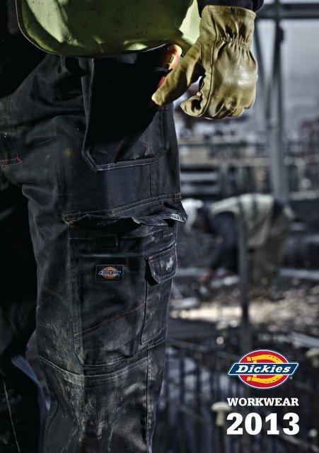 Knee Pad Pockets Dickies Industry 260 Work Trouser Elasticated White FREE BELT