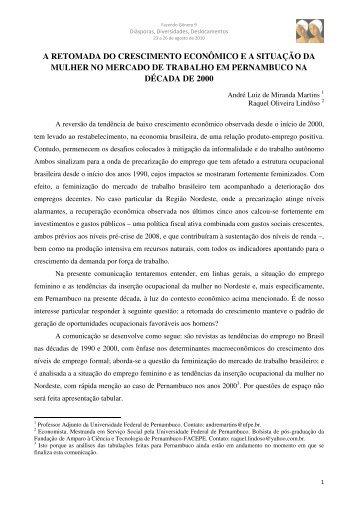 Andre Luiz de Miranda Martins - Fazendo Gênero