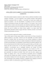 Gênero, Ciência e Tecnologia. ST 22 Isabel ... - Fazendo Gênero