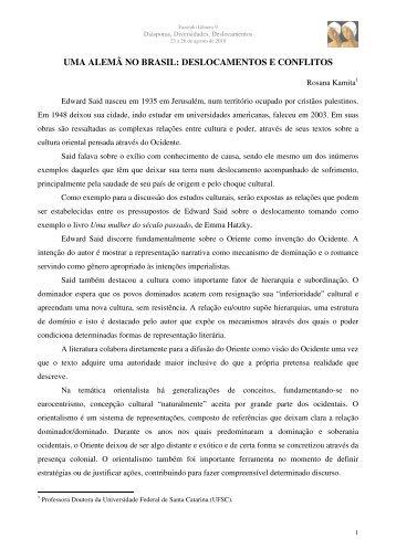 deslocamentos e conflitos - Fazendo Gênero 10 - UFSC