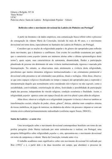 Santa da Ladeira - Fazendo Gênero - UFSC
