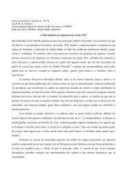 Gênero, memória e narrativas - ST 41 Lucia M. A. ... - Fazendo Gênero