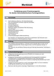 Merkblatt - Fortbildungsakademie Zahnmedizin Hessen GmbH
