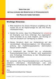 Wichtige Hinweise: - Fortbildungsakademie Zahnmedizin Hessen ...